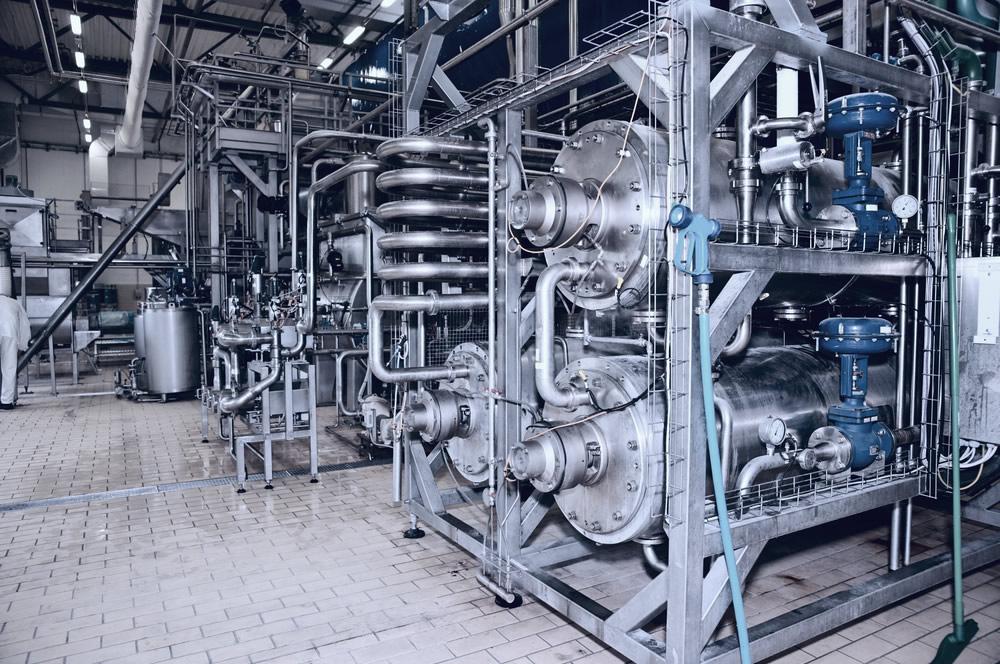 Dairy plant process equipment
