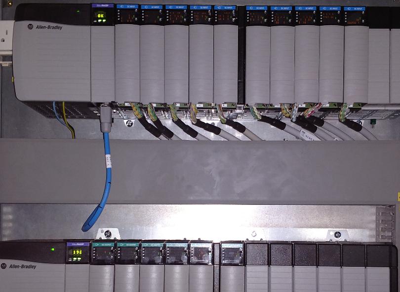 Allen-Bradley ControlLogix racks